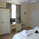 Tasteful furnishings in room 1, Bracken Lodge
