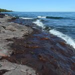 On Lake Superior's Shore