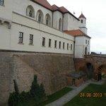 На территории замка