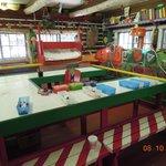 Inside Santa's actual workshop.