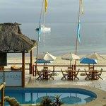 Hotellier, restaurant and beach
