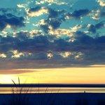Sonnenuntergang Westend