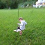 A few precious Reid moments on the swing