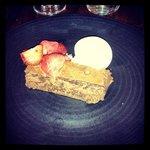 dessert from ncl restaurant week menu