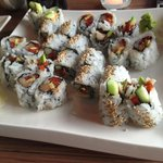 New York roll and Spicy Salmon&tuna roll
