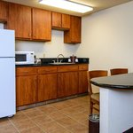 Hampton Inn Houston-Pearland Hotel Suite Kitchen