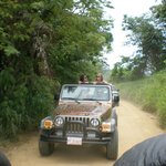 with Roatan 4x4 auf Inselexpedition