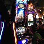 Slot shot...Five Dollars won $100
