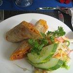 Scrumptious chicken tandoori wrap