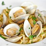 Fettucine Clams