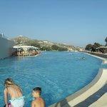 Huge leisure pool