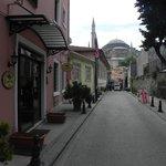Vista a Santa Sofia
