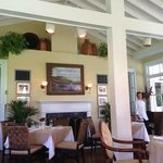 The gorgeous sun room where I had lunch