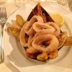 calamars - crevettes