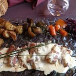 cannette jus de veau lié foie gras