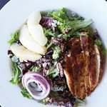 Harwood Salad with Grilled Chicken