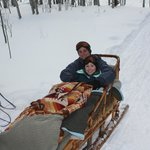 cozy sled