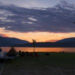 View from Site no:1 at Sandy Point Beach Campground, BC