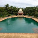 Spectacular swimming pool and gardens