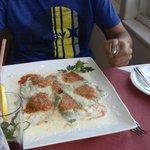 Ravioli ricotta - fresh home made pasta