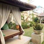 Beautiful Private Lounge Area