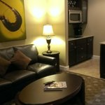 Living Room & Kitchenette area