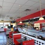 Virgil Donut Diner Inside