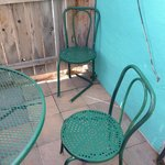 chairs on patio falling apart