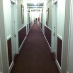 Hallway at the Highland Inn