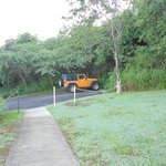 driveway from suite and Carlos Jeep (GET ONE).