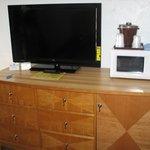 Main room tv and dresser