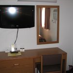 Second bedroom tv and desk