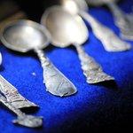 Spoons on display