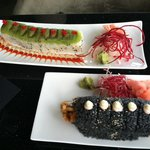 Amazing sushi & beautiful presentation!