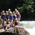 Baker Family Vacation Whitewater Rafting