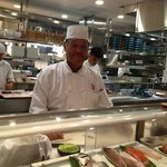 Morimoto Master Sushi Chef, Goto San