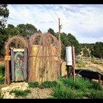 La douche écologique extérieure