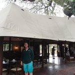Main dining tent