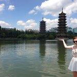 Ella and pagodas