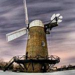 Wilton Windmill in winter