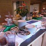 Frühstücks- und Abendbuffet