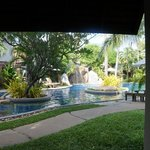 View from room #1114, pool area
