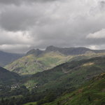 Looking west towards the scafell range