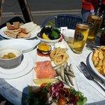 Seafood Platter, Cider & Chips!