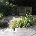 Beautiful private garden