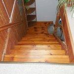 Treppen auf oder Abgang, sehr steil
