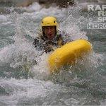 Giù per il fiume in Hydrospeed