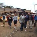 Family tour of Kibera Slums