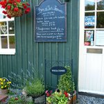 Brig O'Turk Tea Room / Restaurant a warm welcome