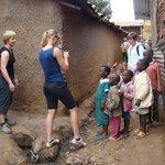 Taking Kibera Slum Children Photo